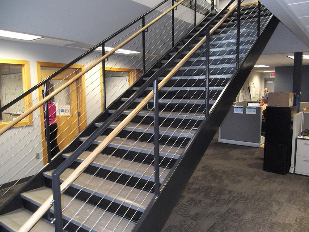 Unicoat Stairways Amp Elevators Electrostatic Spray