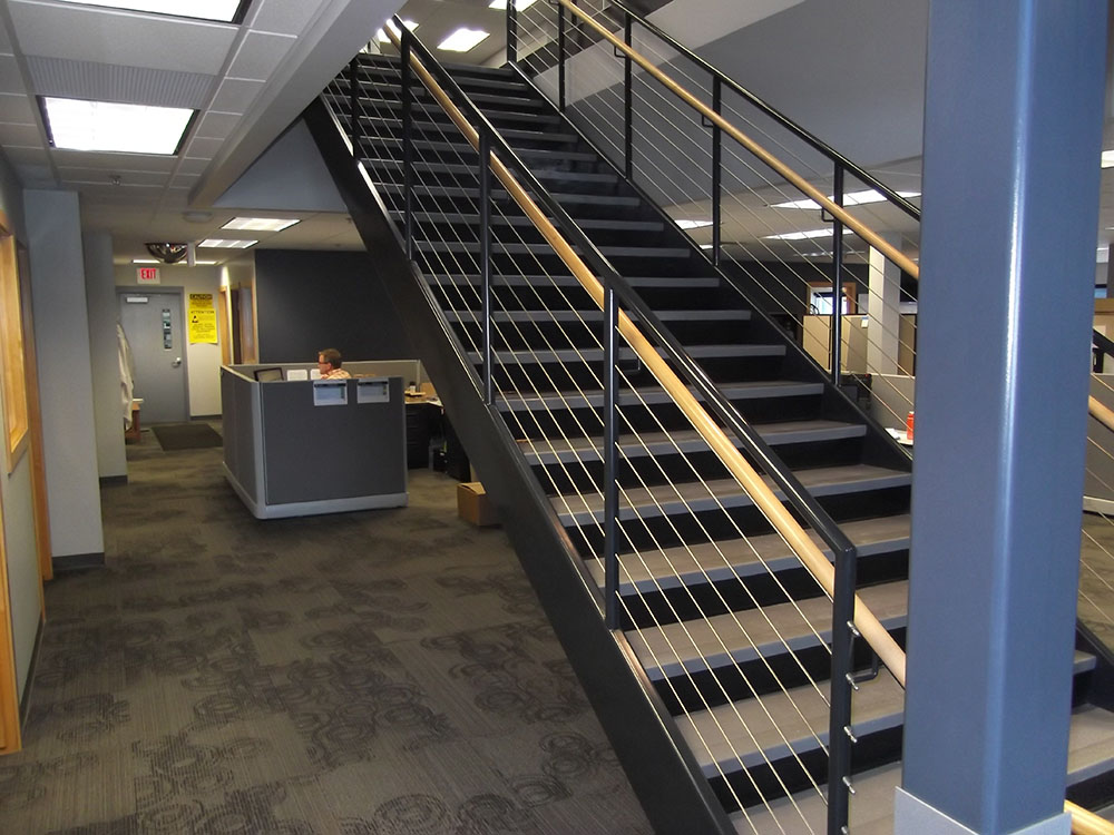 unicoat-electrostatic-spray-painting-services-grand-rapids-mi-stairs-railings